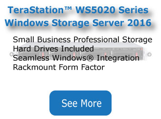 Microsoft Windows Storage Server 2016 | Buffalo Americas