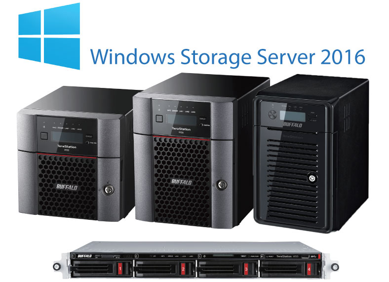 Microsoft Windows Storage Server 2016 | Buffalo Americas