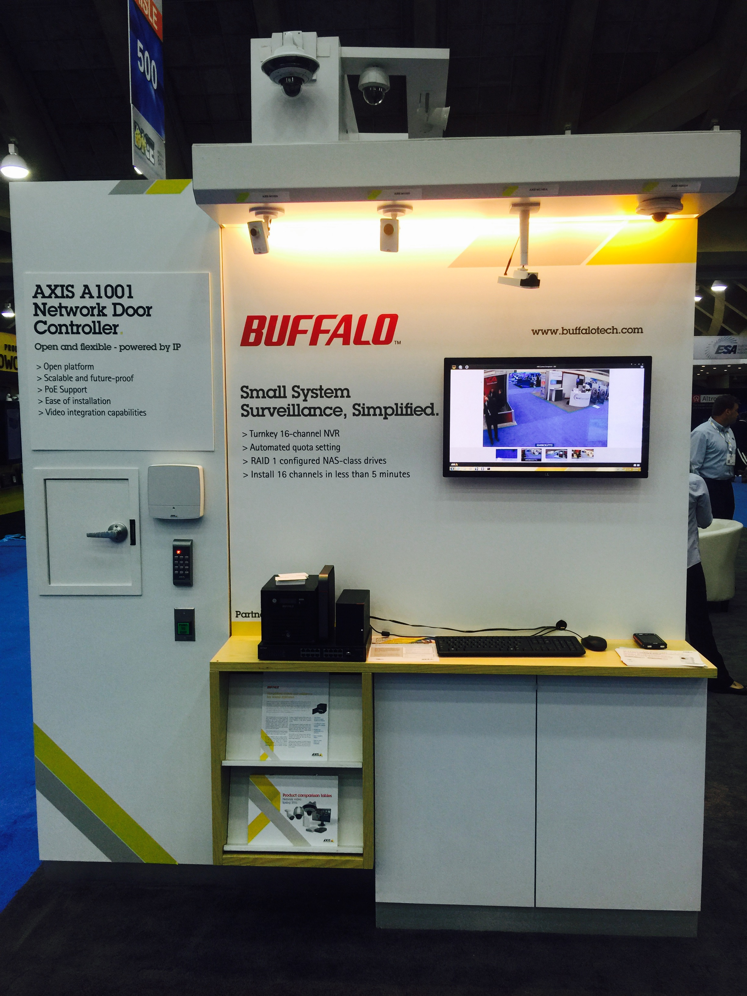 Esx 2015 Roundup And Recap Buffalo Americas Basic Structured Wiring Installation Adjacent To Security Panel According Systems News The Premiere Media Sponsor Of Electronic Expo Home Automation Internet Things Iot