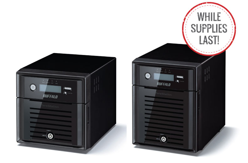 TeraStation™ 5000N WSS - Desktop