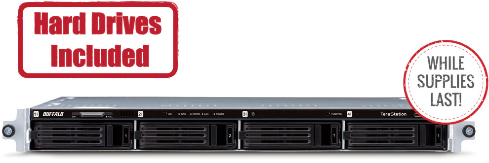 TeraStation™ 1000 Series Rackmount