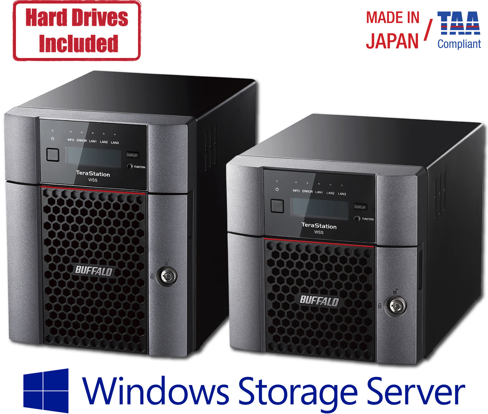 TeraStation™ WS5020 - Desktop