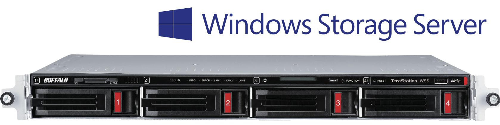 TeraStation™ WS5020 - Rackmount