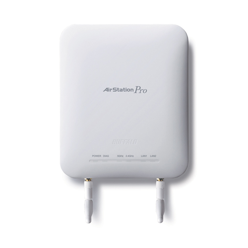 AirStation™ Pro 802 11n Dual Band Gigabit PoE Wireless